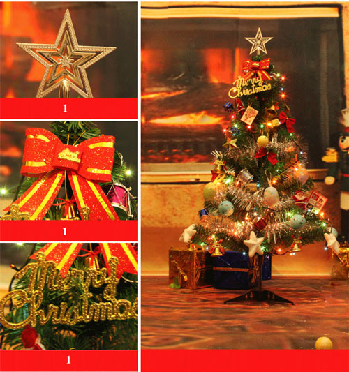 Ngày lễ Noel có rất nhiều món đồ trang trì khác nhau