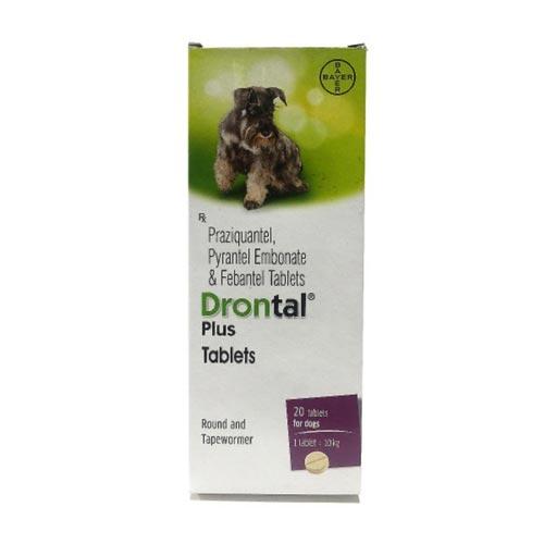Thuốc tẩy giun Drontal cho chó có giá giao động ~40k