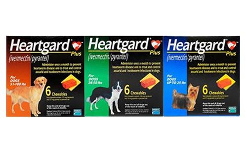 Thuốc tẩy giun cho chó Heartgard giá 80k