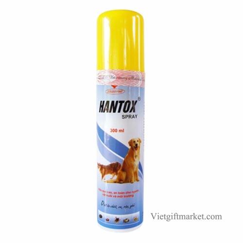 Hantox là hãng thuốc xịt ve chó được bán nhiều nhất trong năm 2018