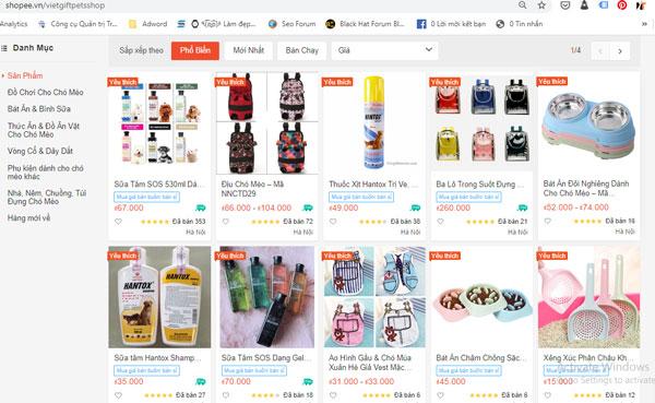 Hình ảnh gian hàng Việt Gift Market trên shopee